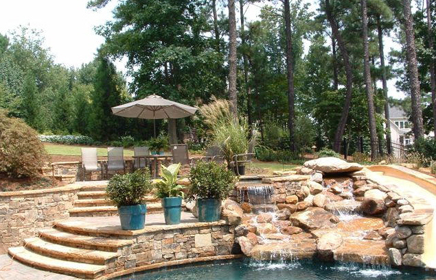 Concrete Driveways Traditional and custom Driveways and backyard designs